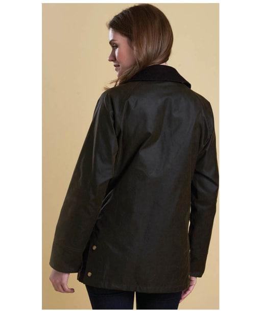 Women's Barbour Acorn Wax Jacket - Olive