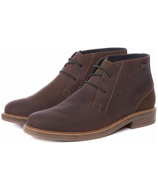 Men's Barbour Readhead Chukka Boots - Chocolate