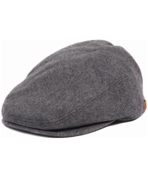 Men's Barbour Redshore Flat Cap - Grey