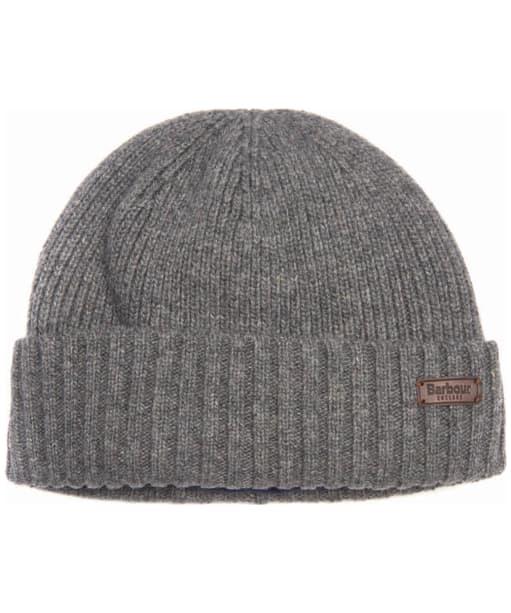 Men's Barbour Carlton Beanie Hat - Grey