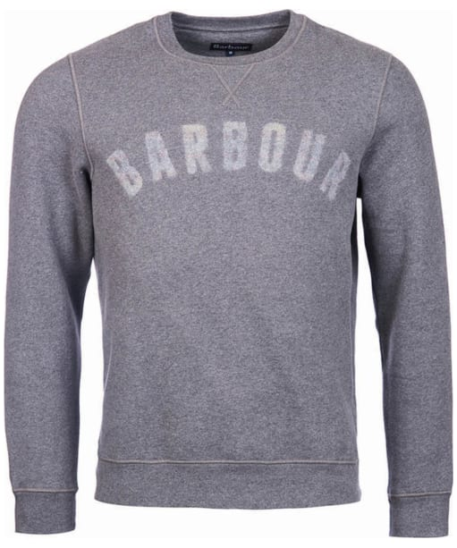 Men's Barbour Logo Sweatshirt - Mid Grey Marl