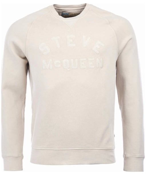 Men's Barbour Steve McQueen Merchant Crew Sweater - Pearl