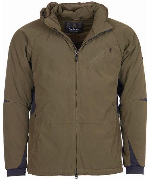 Men's Barbour International Leeve Quilted Jacket - Olive