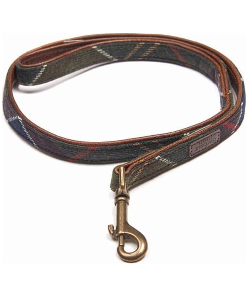 Barbour Wool Touch Tartan Dog Lead - Barbour Classic