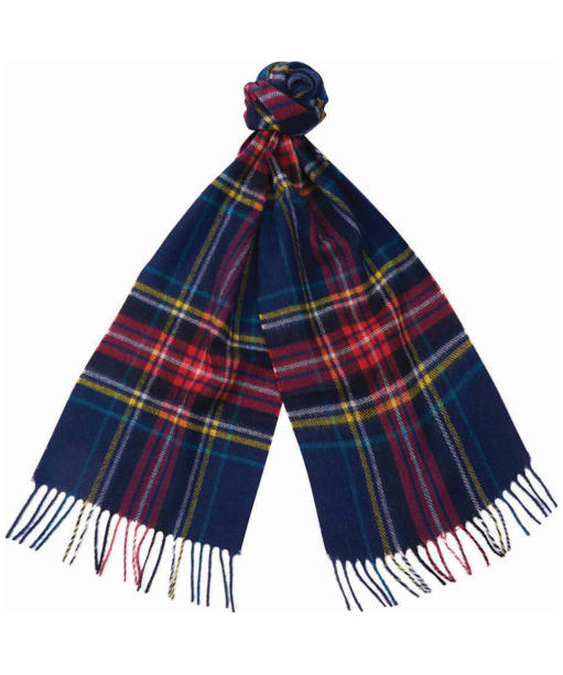 Barbour Rowlock Scarf - Navy / Red