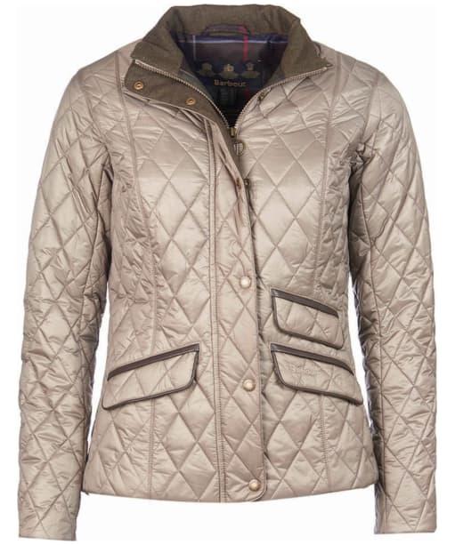Women's Barbour Augustus Quilt Jacket - Taupe
