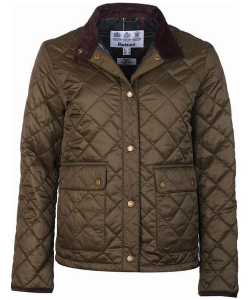 Women's Barbour Heritage Nidd Quilted Jacket - Olive