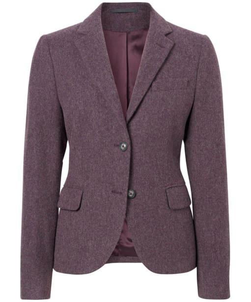 Women's GANT Twill Wool Blazer  - Purple Wine