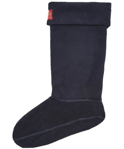 Women's Joules Welton Fleece Welly Socks - Marine Navy