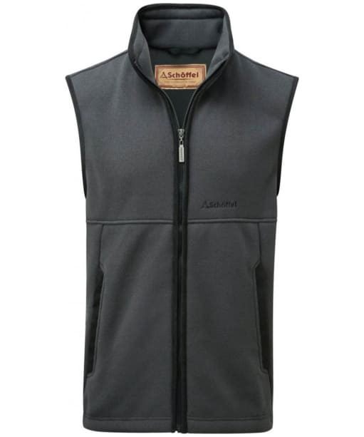 Men's Schöffel Fulham Fleece Gilet - Charcoal