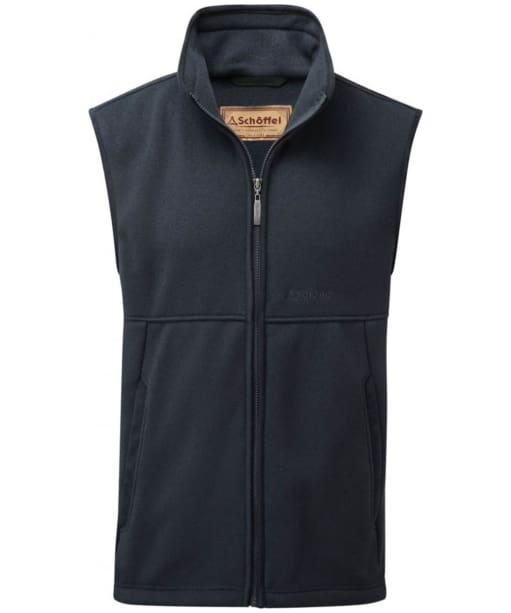 Men's Schöffel Fulham Fleece Gilet - Navy