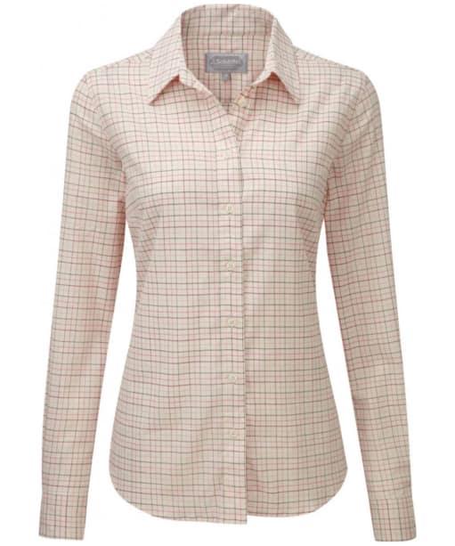 Women's Schöffel Ladies Tattersall Shirt - ROSE TATTERSALL