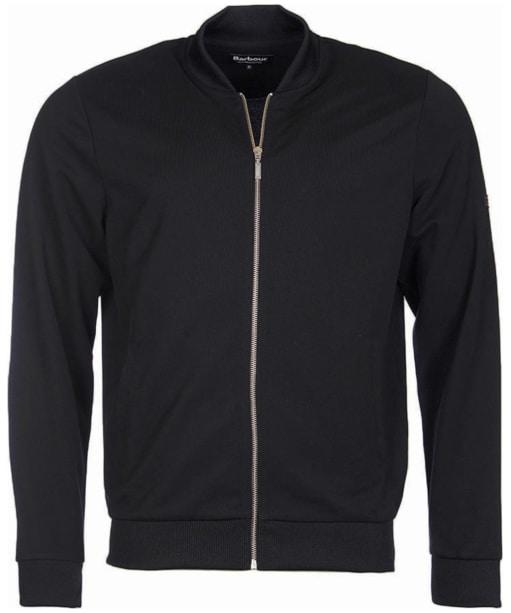 Men's Barbour International Sani Zip Through Sweater - Black