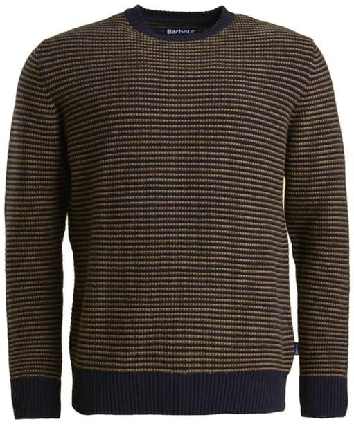 Men's Barbour Brig Crew Neck Sweater - Navy