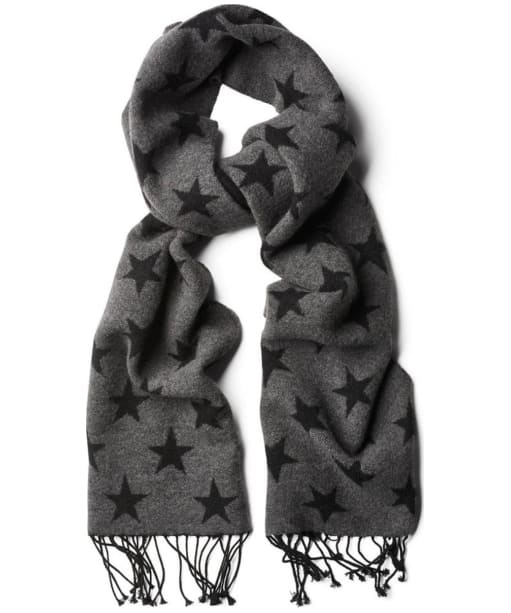 Men's GANT Star Lambswool Scarf - Black