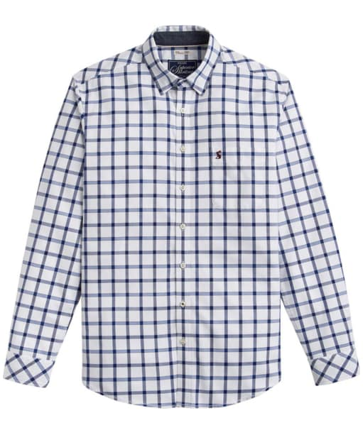 Men's Joules Wilby Shirt - Blue Overcheck