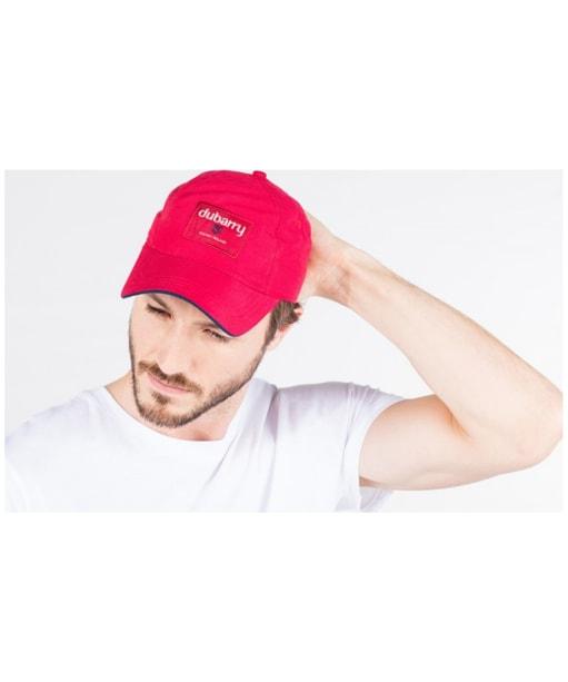 Men's Dubarry Achill Baseball Cap - Red