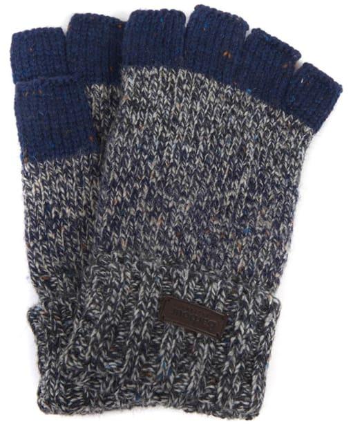 Men's Barbour Runshaw Gloves - Grey / Navy