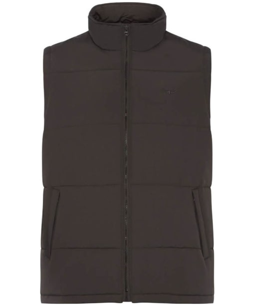 Men's R.M. Williams Patterson Creek Vest - Chocolate