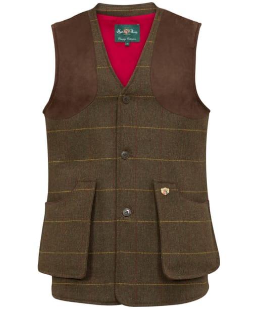 Men's Alan Paine Combrook Shooting Waistcoat - Forest Green