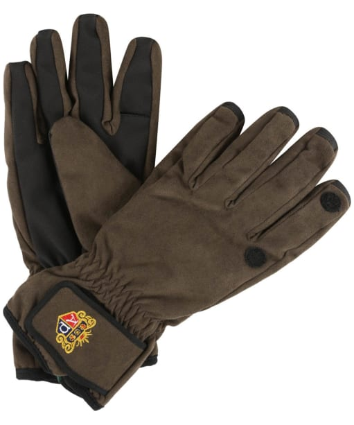 Men's Alan Paine Cambridge Waterproof Shooting Gloves - Oak