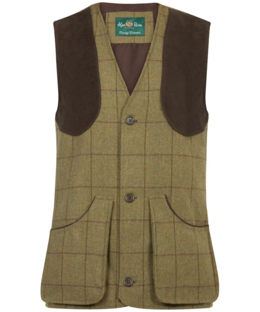 Men's Alan Paine Rutland Shooting Waistcoat - Lichen