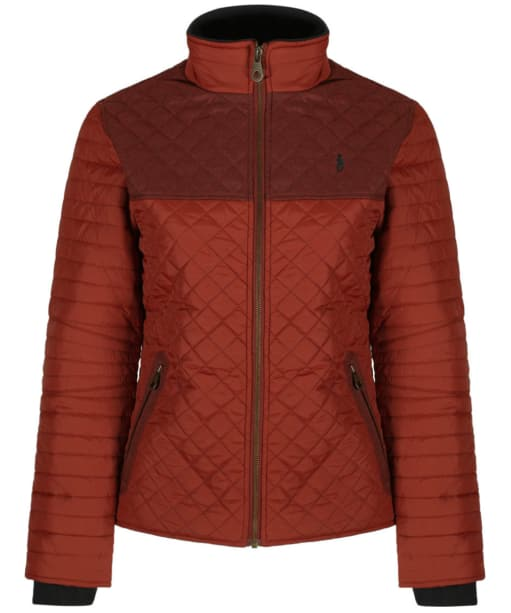 Women's Jack Murphy Martha Quilted Jacket - Red Brick