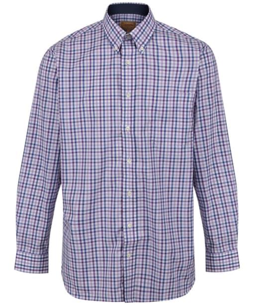 Men's Schoffel Holkham Shirt - Plum