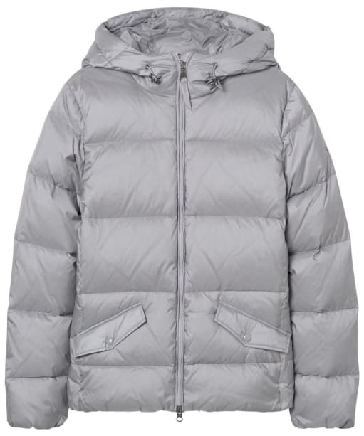 Women's GANT Classic Down Jacket - Silver Grey