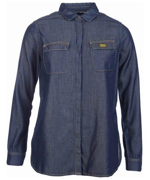 Barbour International Mallory Shirt - Dark Chambray