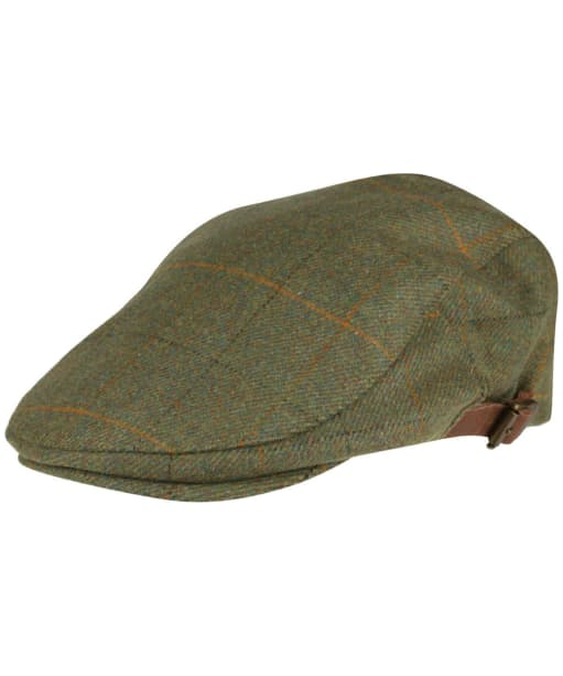 Alan Paine Combrook Waterproof Unisex Tweed Cap - Lovat