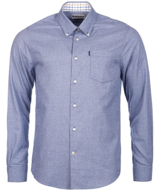 Men's Barbour Theo Tailored Fit Shirt - Navy