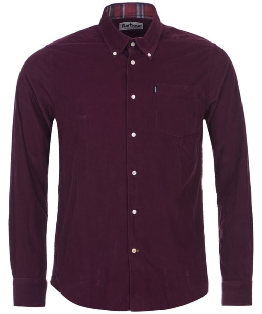 Men's Barbour Morris Tailored Fit Shirt - Merlot