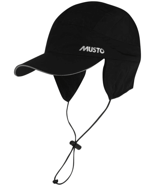 Men's Musto Waterproof Fleece Lined Cap - Black
