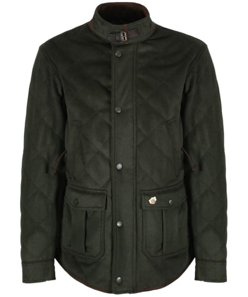 Men's Alan Paine Loden Quilted Jacket - Olive