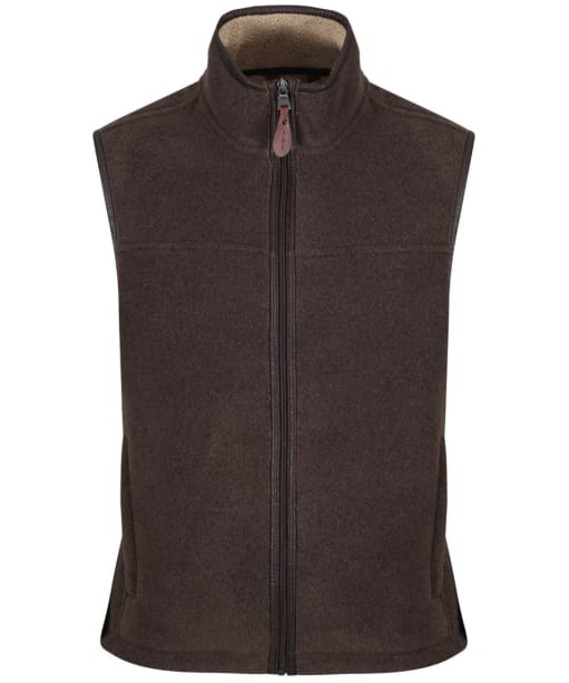 Men's Aigle New Shepper Fleece Gilet - Mouton Bronze Chin