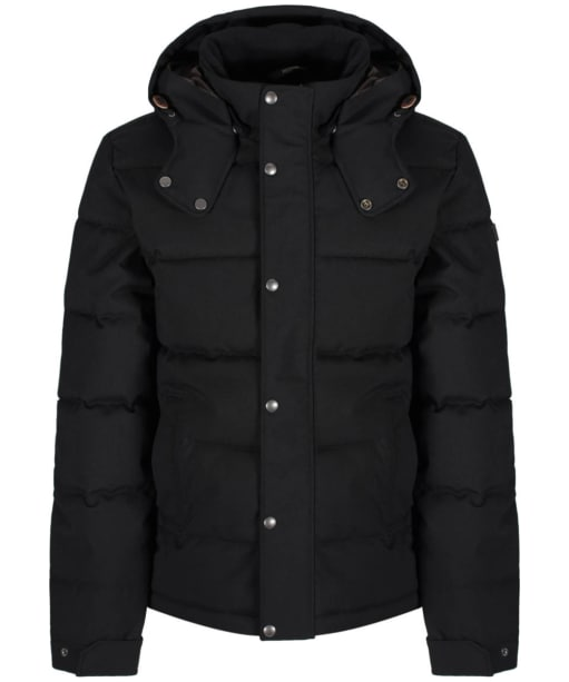 Men's Aigle Ballow Padded Winter Jacket - Black