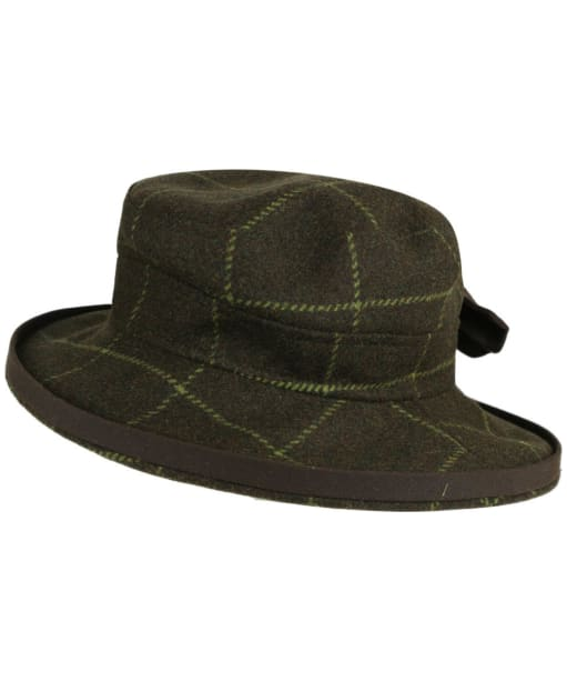 Women's Alan Paine Combrook Tweed Hat - Avocado