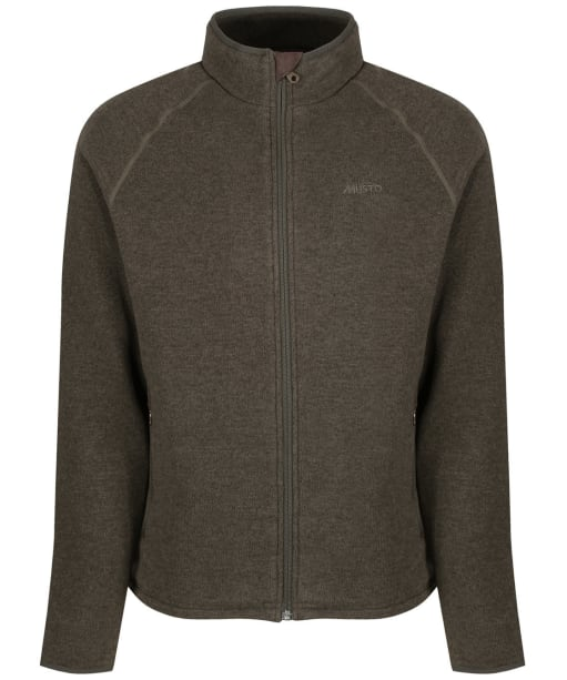 Men's Musto Super Warm Polartec® Windjammer Fleece Jacket - Forest Green
