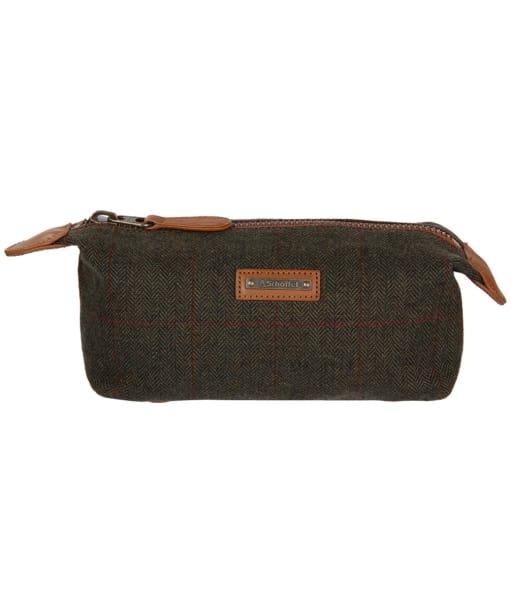 Men's Schöffel Tweed Wash Bag - Windsor Tweed