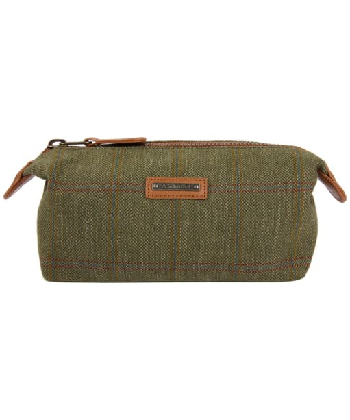 Men's Schöffel Tweed Wash Bag - Sandringham Tweed