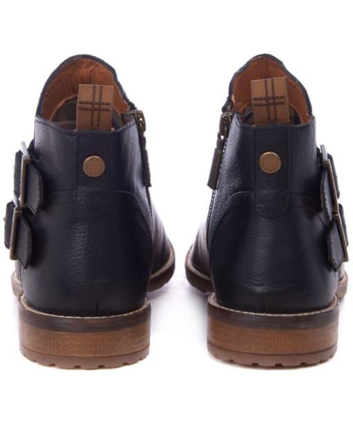Women's Barbour Sarah Low Buckle Boots - Black