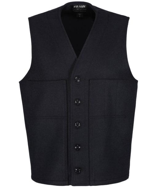 Men's Filson Mackinaw Wool Vest - Navy