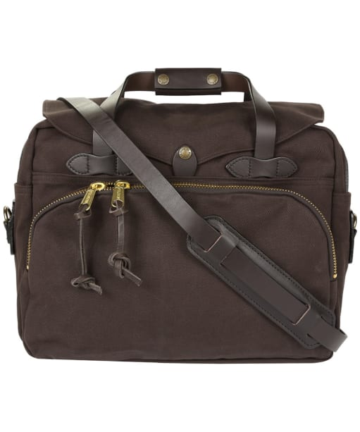 Filson Padded Briefcase - Brown