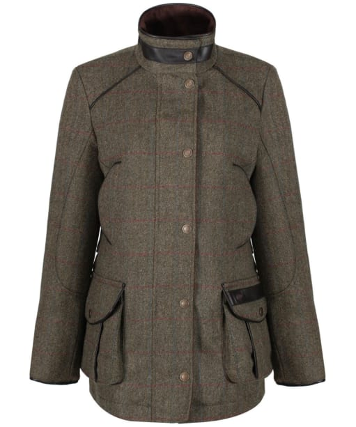 Women's Dubarry Marlfield Tweed Jacket - Moss
