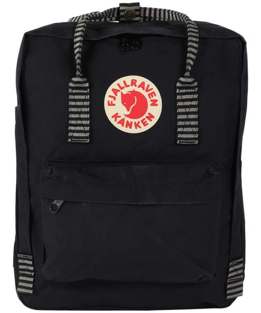 Fjallraven Kanken Backpack - Black Striped