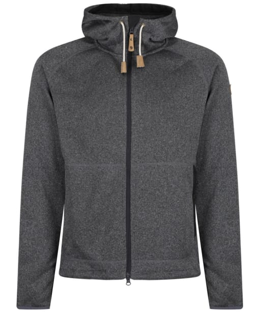 Men's Fjallraven Ovik Fleece Hoody - Dark Grey