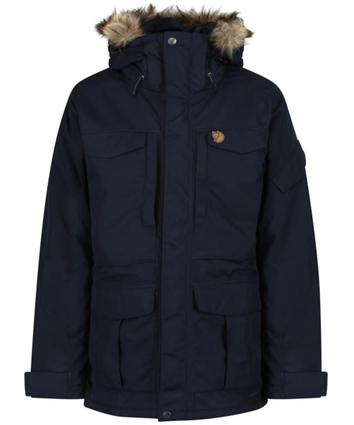 Men's Fjallraven Yupik Parka - Dark Navy