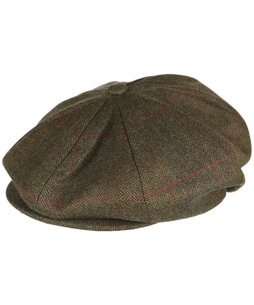 Men's Schoffel V8 Tweed Cap - Windsor Tweed