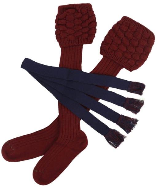 Men's Schoffel Teigh Socks - Mulberry